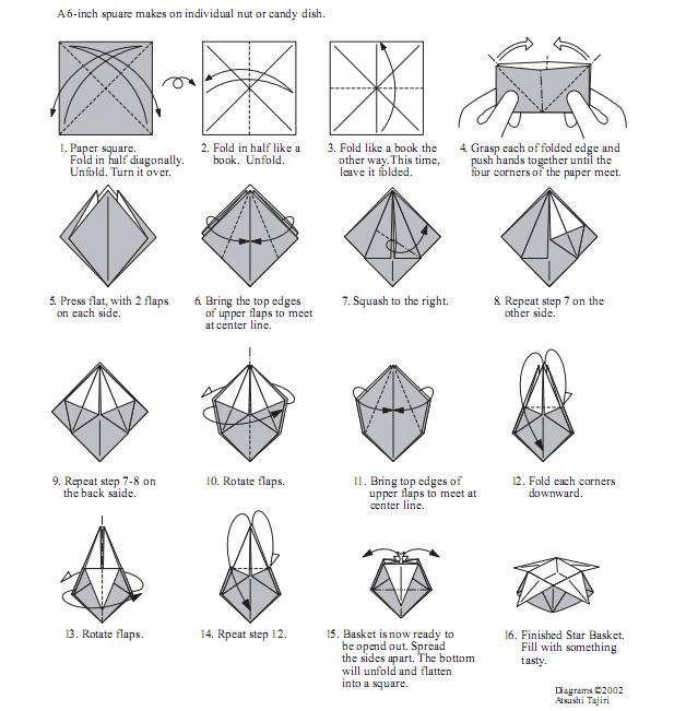 Origami Game With Paper