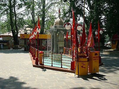 temple at kheer bhawani