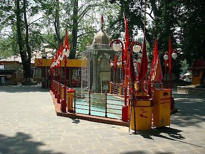 temple at kheer bhawani