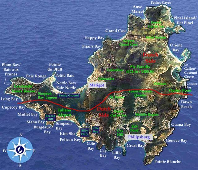 Hotel Saint Martin Antilles Francaises