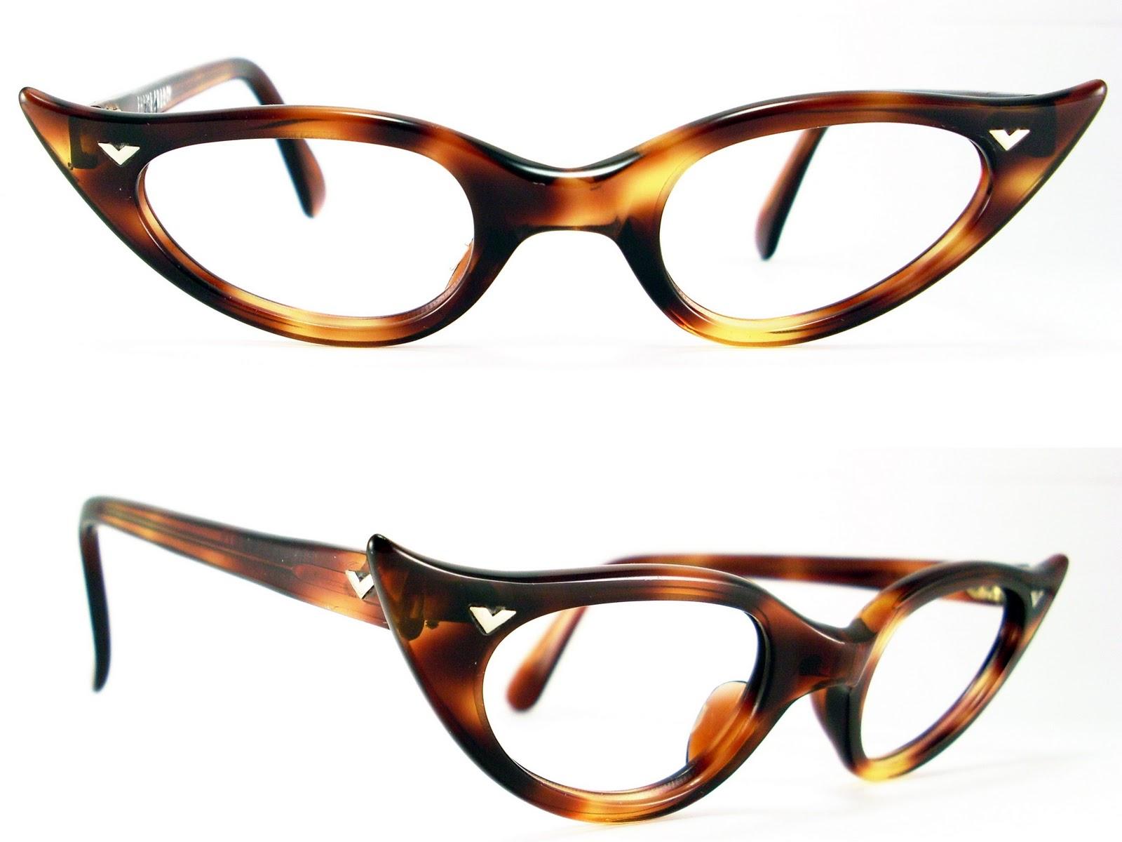 Vintage Eyeglasses Frames Eyewear Sunglasses 50S: January 2011
