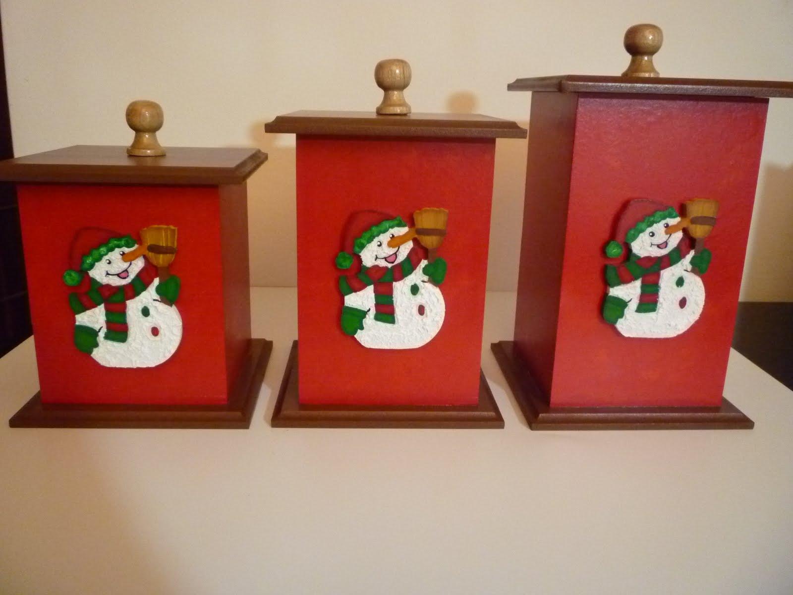 Manualidades en mdf y vitral para la cocina en navidad - Manualidades para navidades ...