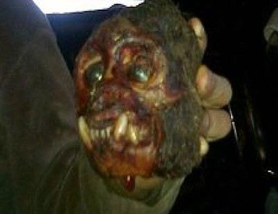 Makhluk misterius bertaring besar ditemukan dan ditembak mati di Argentina