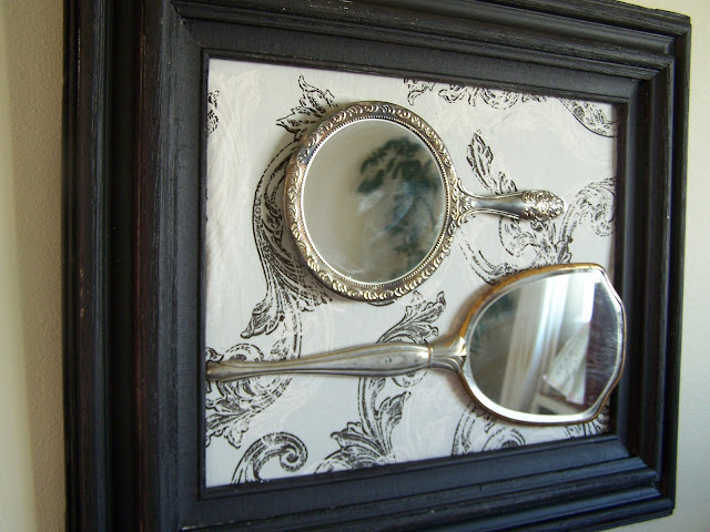 repurposed mirrors http://bec4-beyondthepicketfence.blogspot.com/2010/04/mirror-mirror-on-wall.html