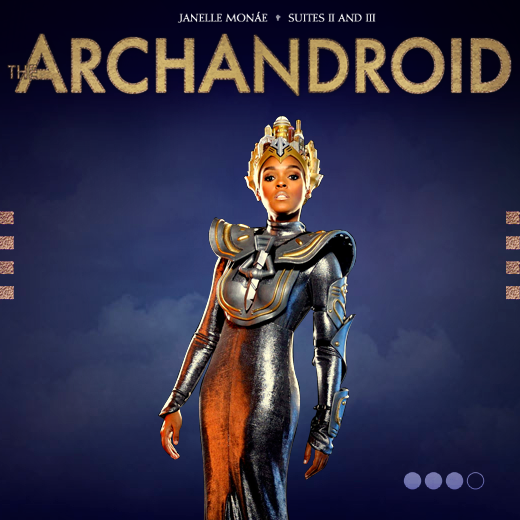 Hollywood Stars: Janelle Monáe - The ArchAndroid (FanMade ...
