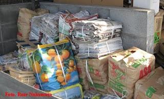 Organização do lixo no Japão