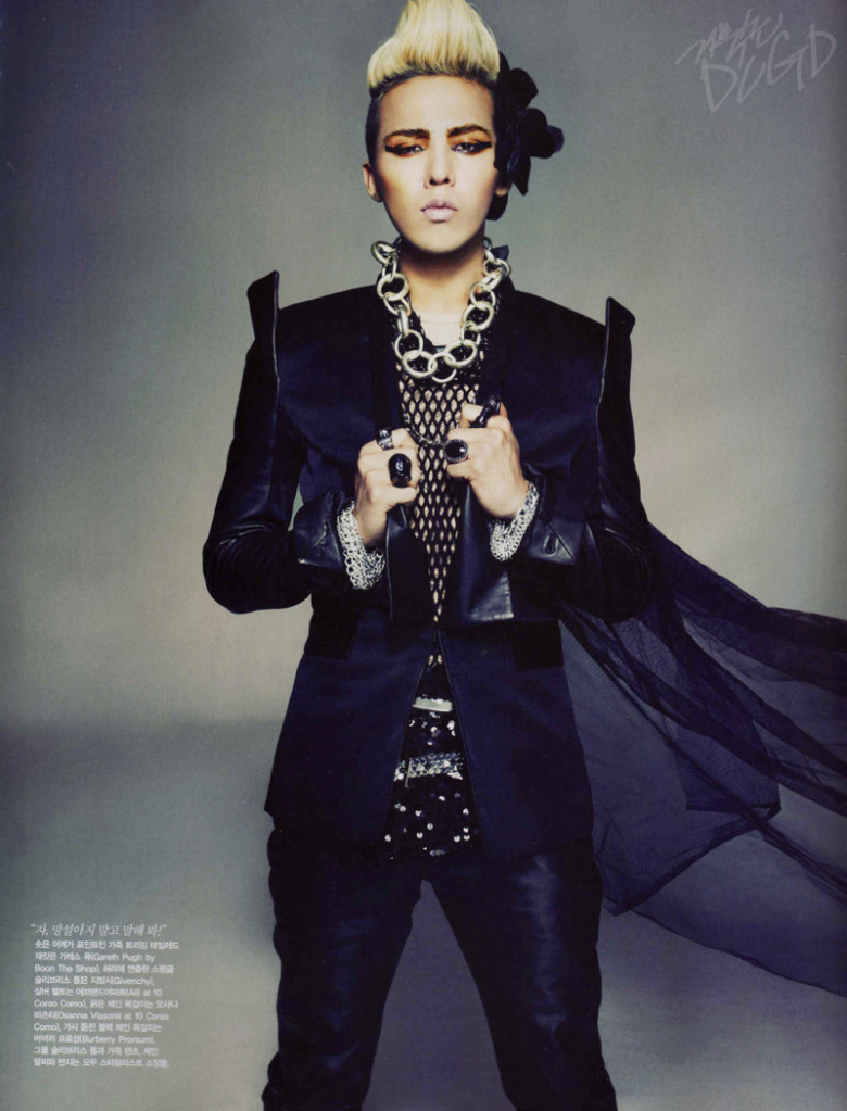 The Best Photoshoots in Kpop Industry: G-Dragon for Vogue  The Best Photos...