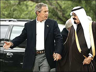 bush relationship with saudi arabia