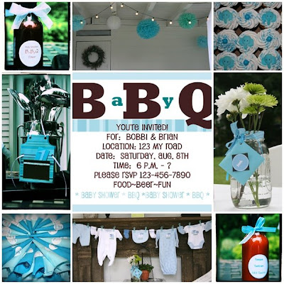 BBQBaby Shower Invitations DIY Show Off DIY Decorating and
