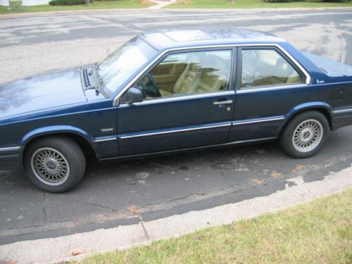 just a car geek 1989 volvo 780 bertone coupe. Black Bedroom Furniture Sets. Home Design Ideas
