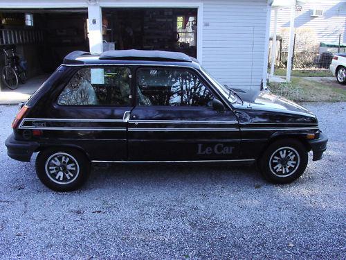just a car geek 1982 renault le car r5 sport. Black Bedroom Furniture Sets. Home Design Ideas