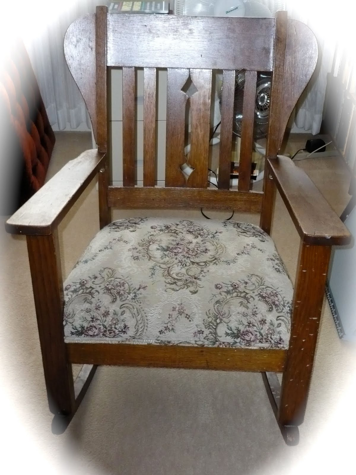 1920s Rocking Chair Covers For Folding Chairs Wholesale A Vintage Green The Oak Circa 1920