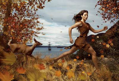 Jessica Biel is portrayed as Pocahontas