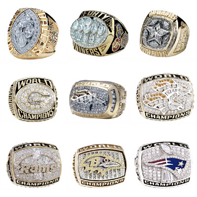Rings from 1993-2001