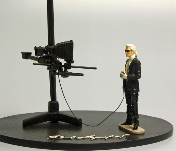 the limited edition Karl Lagerfeld doll