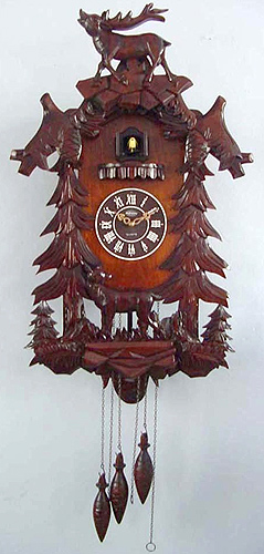 Unusual Cuckoo Clocks if it's hip, it's here (archives): cuckoo for cuckoo clocks: many