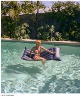 Cindy Sherman's woman in pool