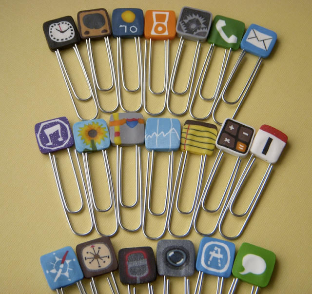 iphone icon paperclips