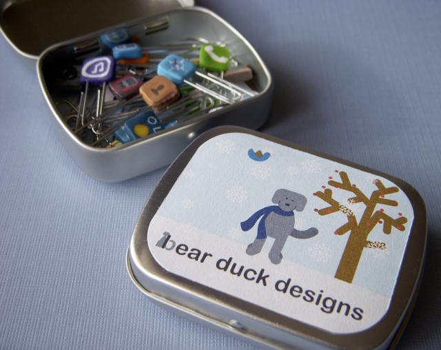 bear duck designs paperclips