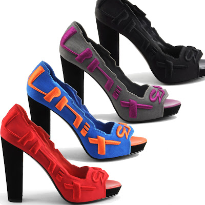 Block Heel Embroidered Shoes Sandals