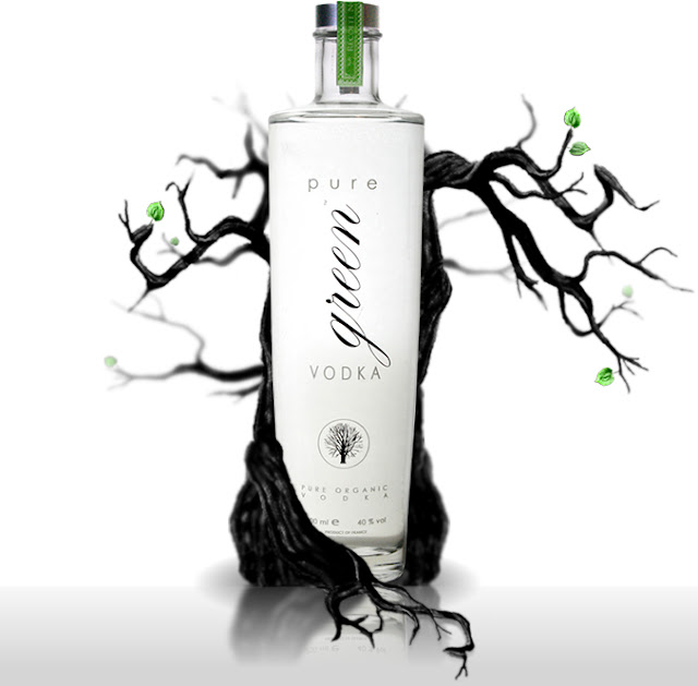 pure green vodka