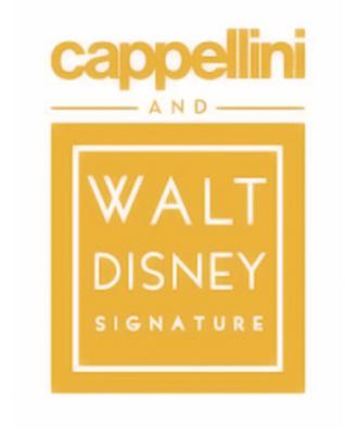 cappellini and walt disney signature