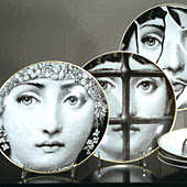 fabulous fun for fornasetti fanatics new rugs wallpaper u0026 more