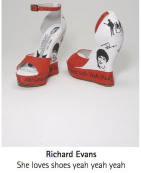 Richard Evans' shoes