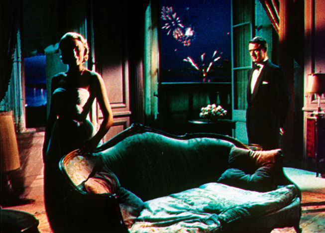 The original still of Grace Kelly and Cary Grant in To Catch A Thief. Paramount Pictures/Photofest.