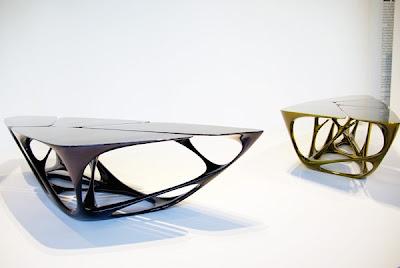 Mesa tables by Zaha Hadid