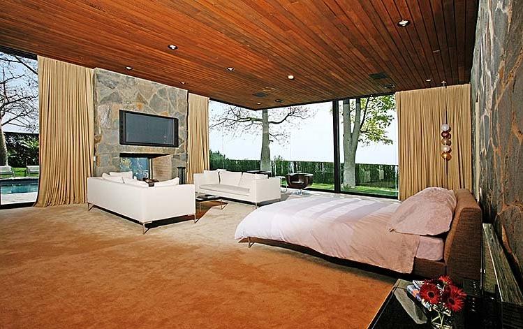 vintage mid-century modern bedroom