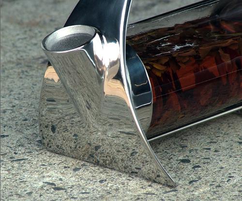 Mirror polished finish Sorapot