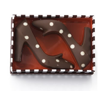 Jessica Walters Chocolate Shoes
