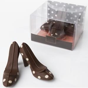 Jessica Walters chocolate high heels