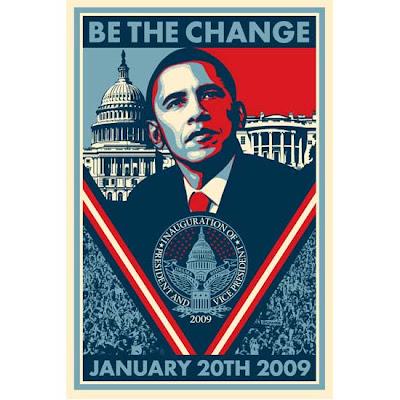 shepard fairey inaugural poster