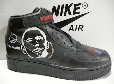 Obama 08 Nikes