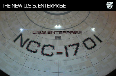 the new uss enterprise for the movie