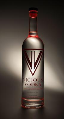 caffeine-infused Vicious Vodka