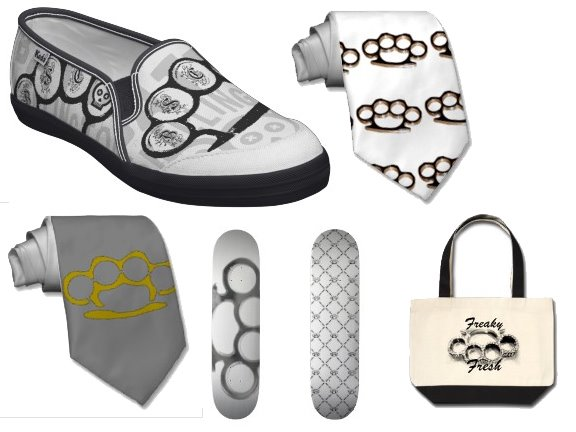 zazzle brass knuckle products