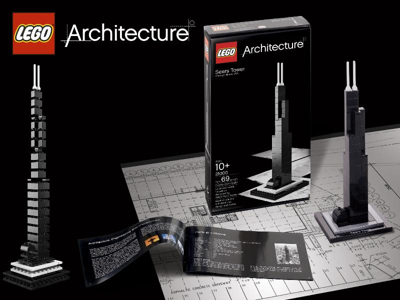 LEGO architecture Sears Tower