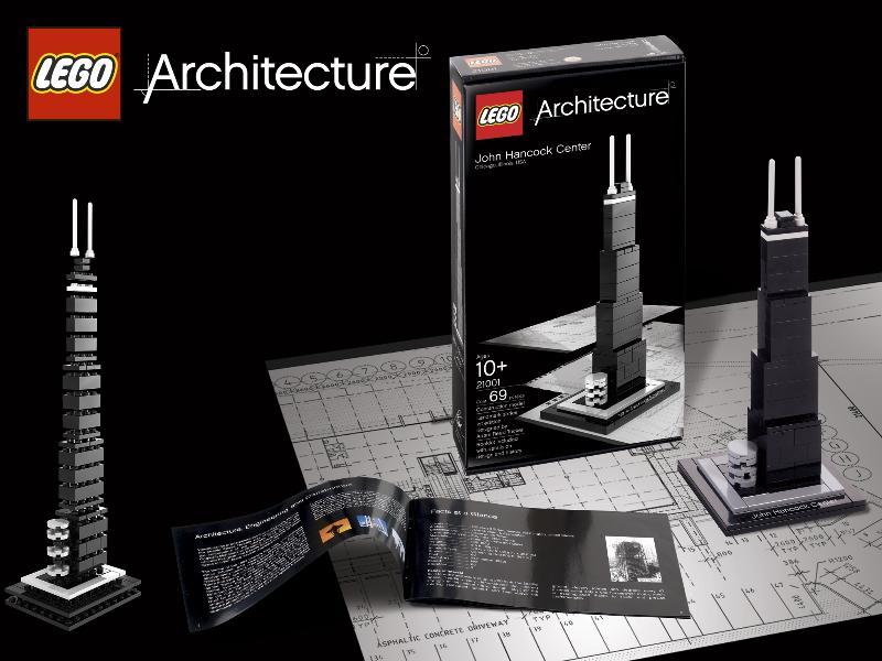 LEGO architecture john hancock tower