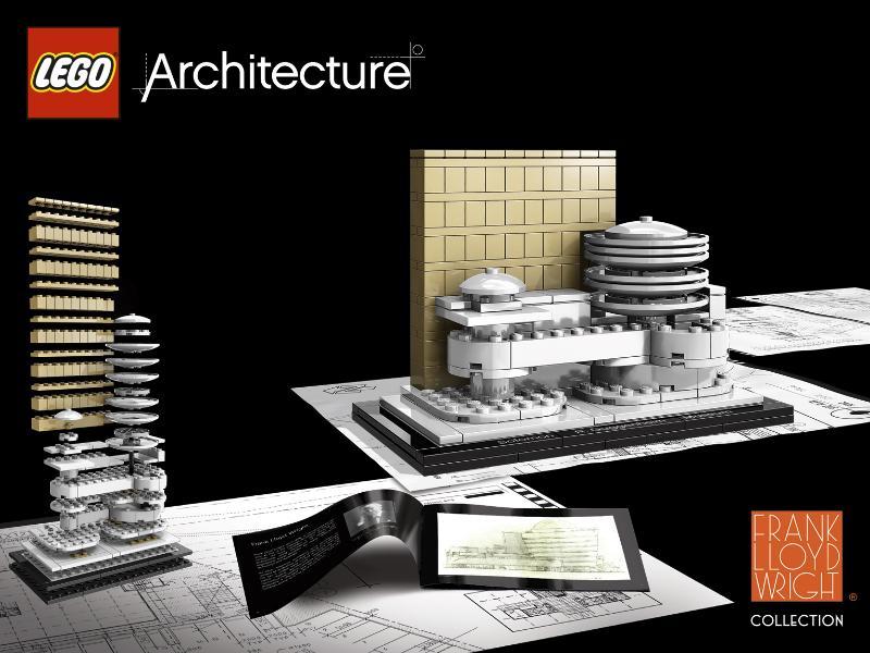 LEGO architecture guggenheim