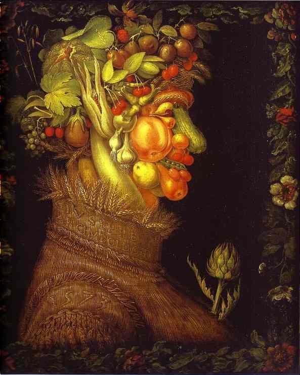 "Giuseppe Arcimboldo's ""Summer"", 1573"