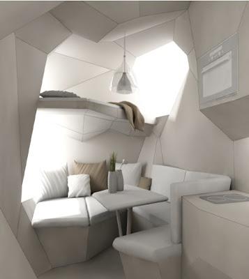 Simple Modern Gypsy Wagon Interior Roulottes European Caravans