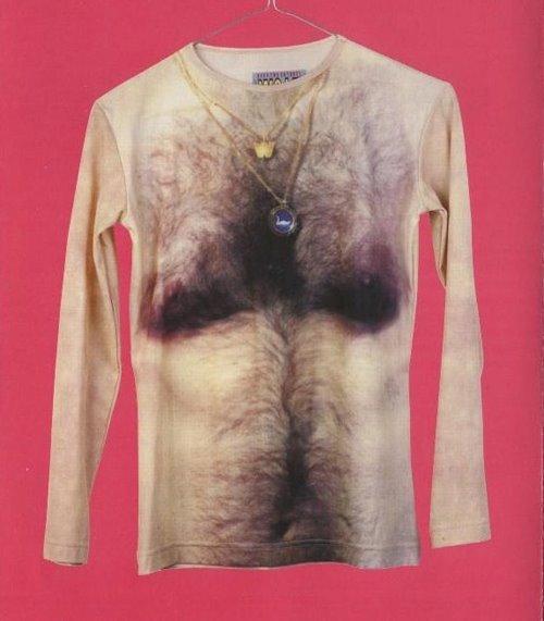 hairy t-shirt