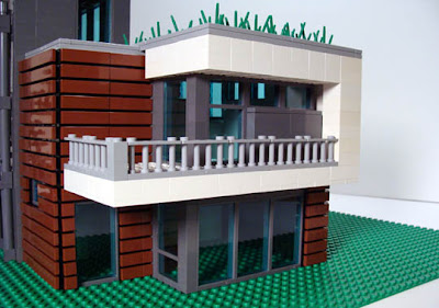 If it 39 s hip it 39 s here archives lego replicas of eames for Modernes lego haus
