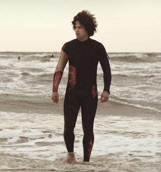 The Shark Bite Wetsuit - if it's hip, it's here