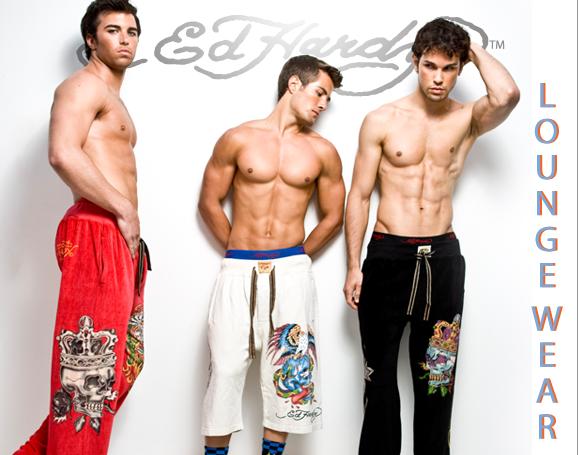 men's loungwear from Ed Hardy