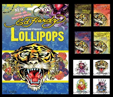 ed hardy lollipops