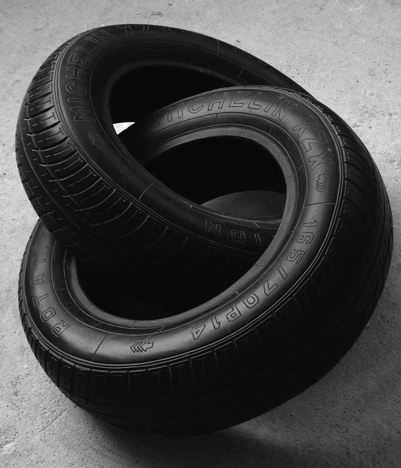 tires made of marble